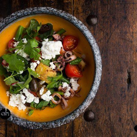 צילום מלמעלה של אוכל -topshot of a dish